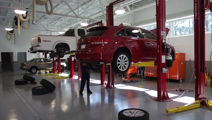 Kasy fiskalne dla warsztatu samochodowego